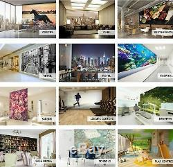 3D Black Office B507 World Map Wallpaper Wall Mural Removable Self-adhesive Amy