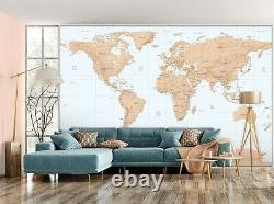 3D Russia Country A33 World Map Wallpaper Wall Mural Removable Self-adhesive Amy