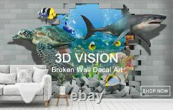 3D Study World Map R477 Wallpaper Wall Mural Self-adhesive Commerce Amy