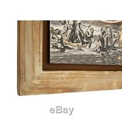 Merlin Antique World Map Wall Painting