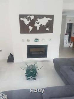 Plasma cut Map of the World Wall Hanger Large