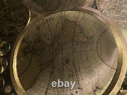 Reproduction/Antique Map of the World By Adam Friedrich Zurner 1700 (c)Amsterdam