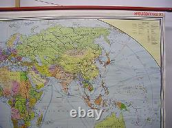 Wall Map Beautiful World Map Political 245x142 Vintage Political 1979